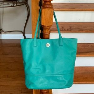 🤩Tory Burch Michelle Angelux Turquoise Tote🤩